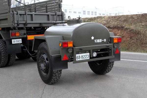 陸上自衛隊装備 水タンクトレー...