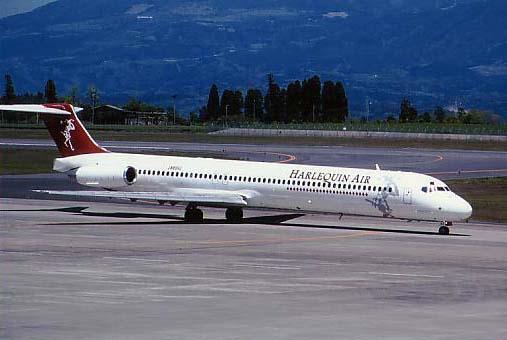 ハーレクインエア MD-81 JA8552 ...