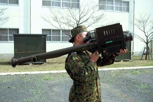陸上自衛隊装備 91式携帯地対空誘導弾 練馬駐屯地 2004年4月11日